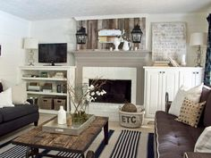 30 Fireplace Remodel Ideas for Any Budget | HGTV — Ingram Book Company