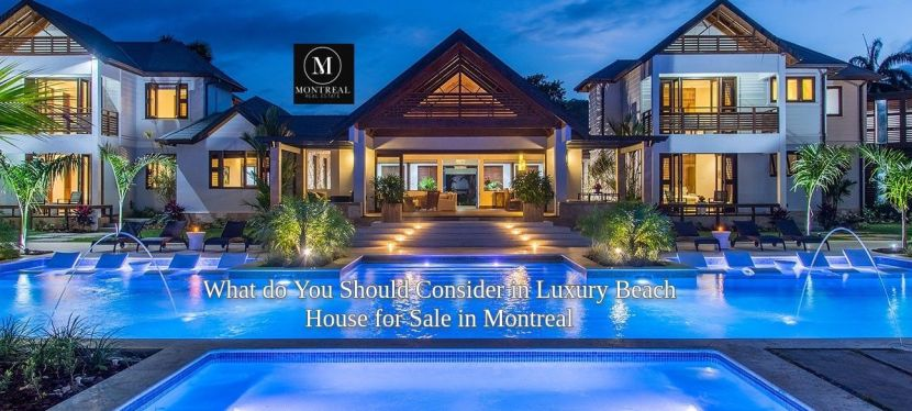 Luxury Beach House for Sale in Montreal — SiteTitle